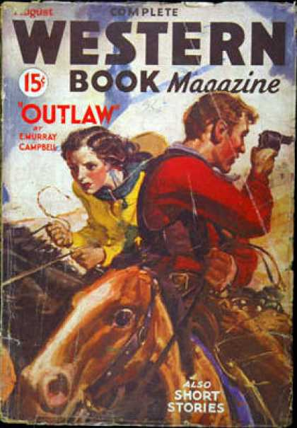 Complete Western Book Magazine - 8/1934