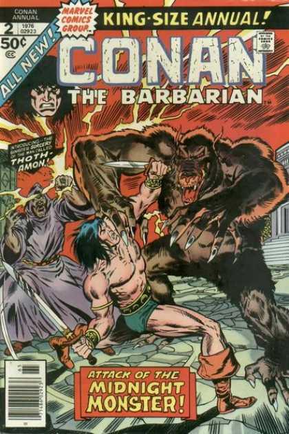Conan Annual 2