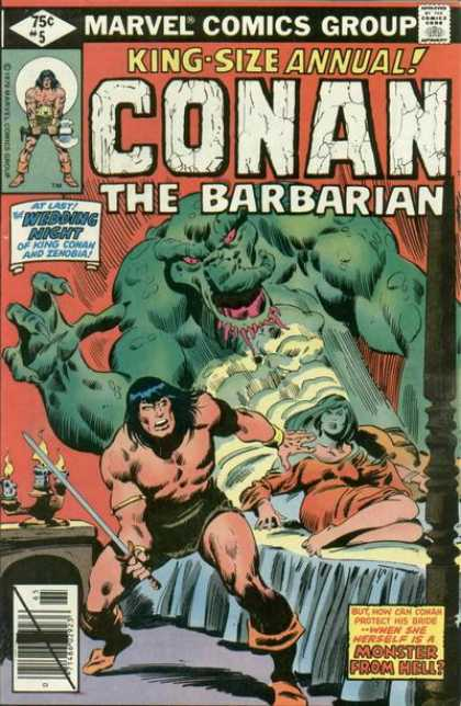 C >> Conan Annual Covers