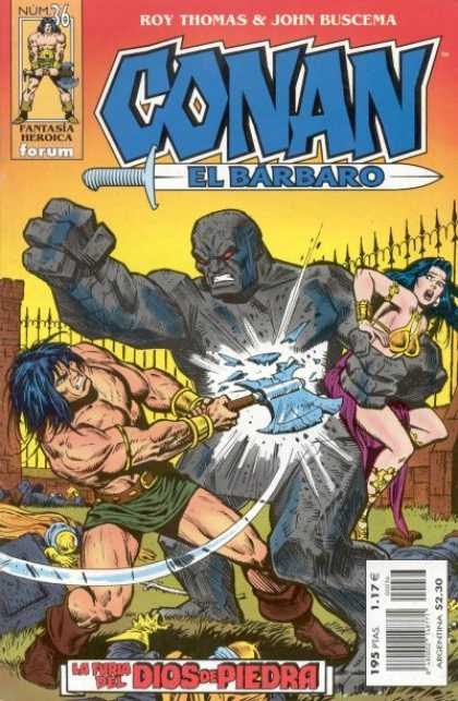 Conan el Barbaro 36