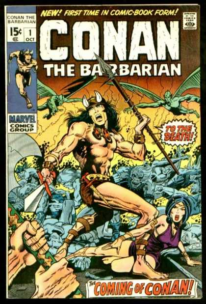 Conan the Barbarian 1 - Spear - Barry Windsor-Smith