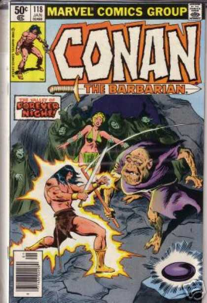 Conan the Barbarian 118 - 118 - Jan - Forever Night - Marvel - Valley - John Buscema