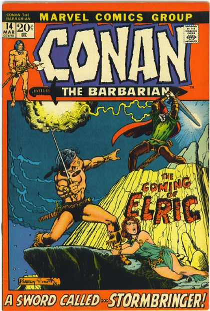 Conan the Barbarian 14 - Sword - Elric - Barry Windsor-Smith