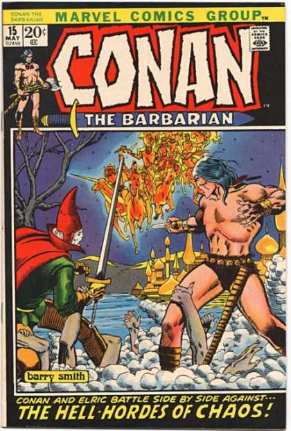 Conan the Barbarian 15 - Elric - Hell-hordes - Chaos - Barry Smith - Fantasy - Barry Windsor-Smith