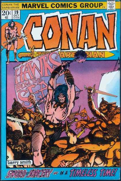 Conan the Barbarian 19 - Barry Windsor-Smith