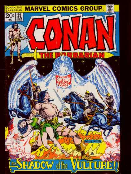 Conan the Barbarian 22 - Barry Windsor-Smith