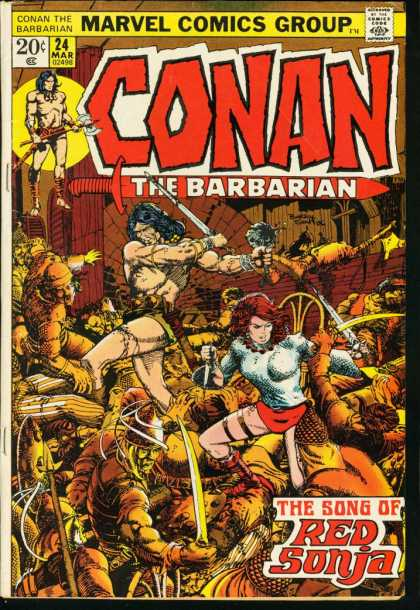 Conan the Barbarian 24 - Red Sonja - Barry Windsor-Smith