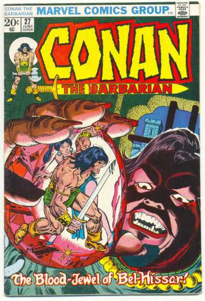 Conan the Barbarian 27 - Crystal Ball - Sword