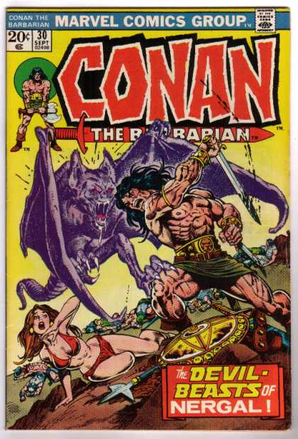 Conan the Barbarian 30 - Bat