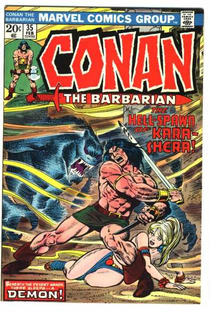 Conan the Barbarian 35 - Sword