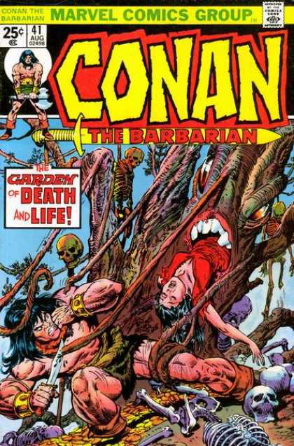 Conan the Barbarian 41 - Conan The Barbarian - The Garden Of Death And Life - Bones - Teeth - Gore