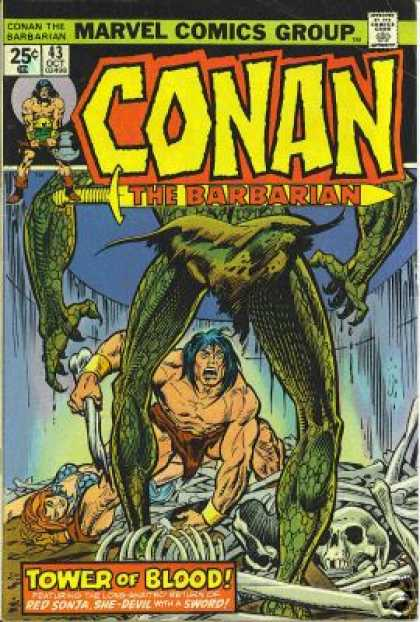 Conan the Barbarian 43 - Red Sonja - Bones