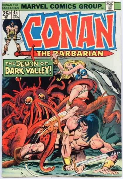 Conan the Barbarian 45 - Demon - Marvel Comics - Marvel - Conan - Dark Valley - Neal Adams