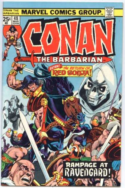 Conan the Barbarian 48 - Conan - The Barbarian - Red Sonja - Rampage At Ravengard - Marvel Comics