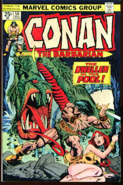 Conan the Barbarian 50 - Klaus Janson