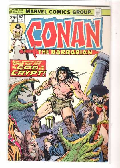 Conan the Barbarian 52 - Crypt