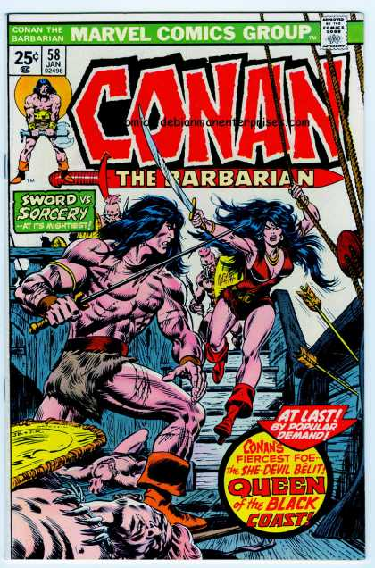 Conan the Barbarian 58 - Belit - John Buscema