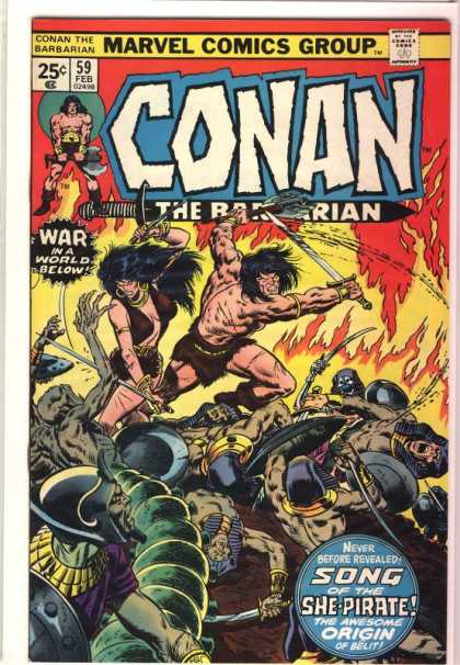 Conan the Barbarian 59 - Sword