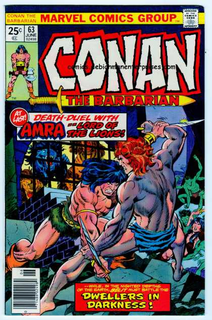 Conan the Barbarian 63