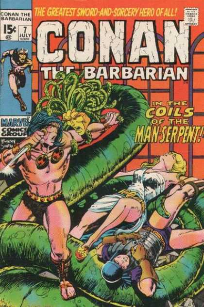 Conan the Barbarian 7 - Barry Windsor-Smith