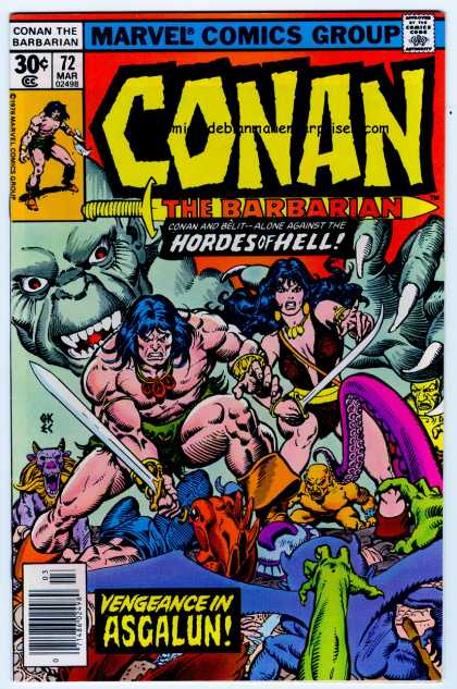 Conan the Barbarian 72 - Sword - Ernie Chan