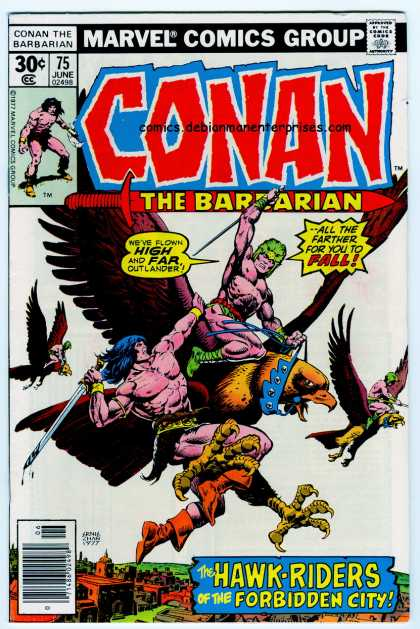 Conan the Barbarian 75 - Ernie Chan