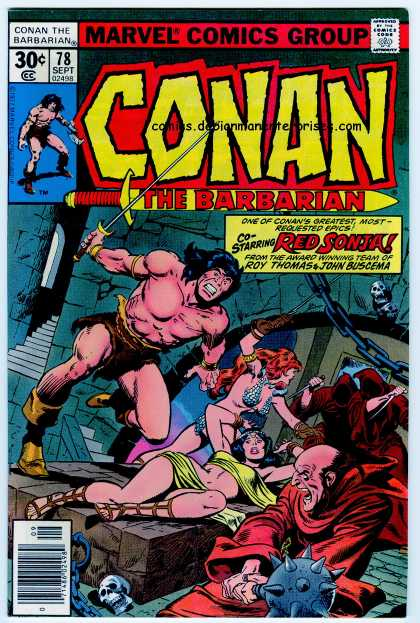 Conan the Barbarian 78 - Red Sonja - John Buscema