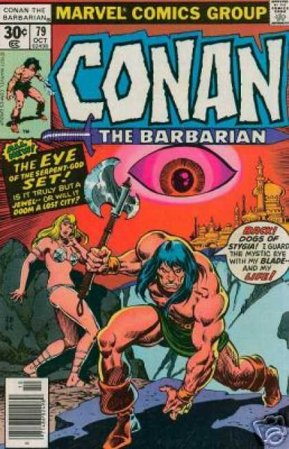 Conan the Barbarian 79 - Marvel - Marvel Comics - Dogs Of Stygia - Barbarian - Conan