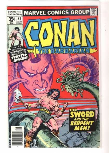 Conan the Barbarian 89 - Medusa