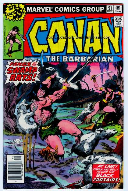 Conan the Barbarian 91