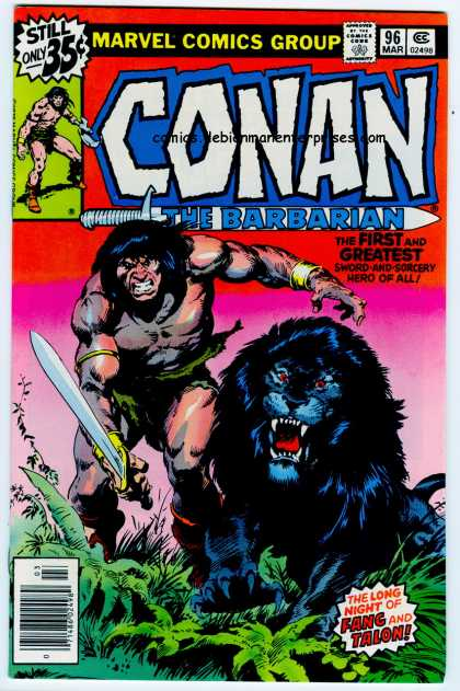 Conan the Barbarian 96 - Marvel - Strong - Man - Fang - Talon