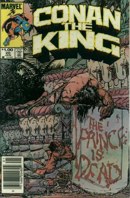 Conan the King 20 - John Severin, Michael Kaluta