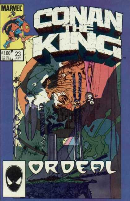 Conan the King 23 - Michael Kaluta