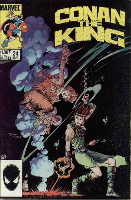 Conan the King 24 - Michael Kaluta