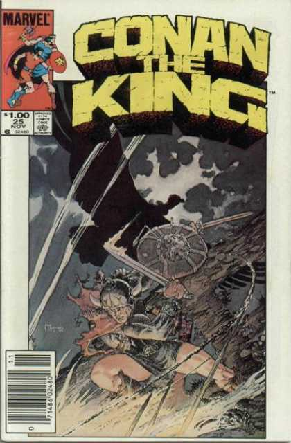 Conan the King 25 - Michael Kaluta