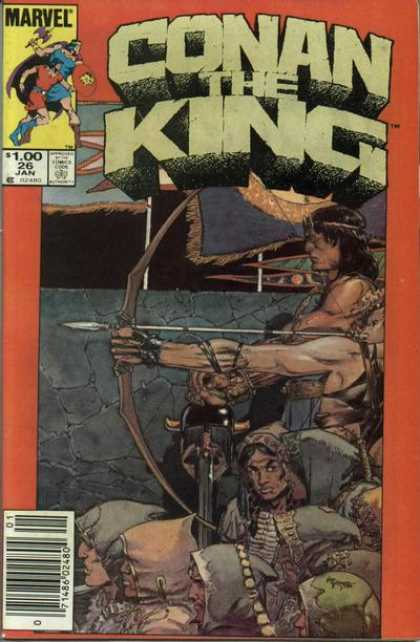 Conan the King 26 - Michael Kaluta