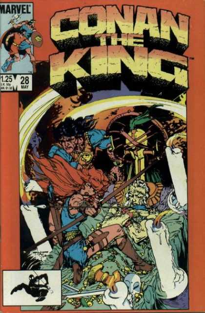 Conan the King 28 - Michael Kaluta