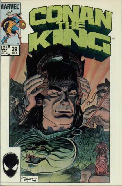 Conan the King 29 - Michael Kaluta
