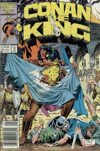 Conan the King 38 - Al Williamson, Mike Manley