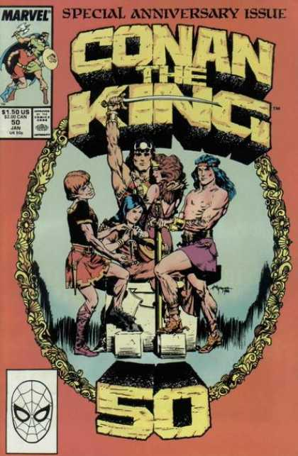 Conan the King 50 - Michael Kaluta
