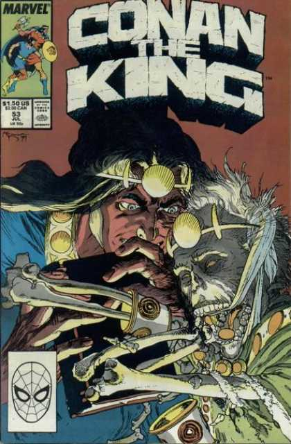 Conan the King 53 - Michael Kaluta