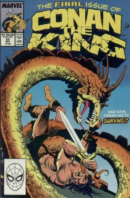 Conan the King 55 - Andy Kubert