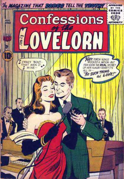 Confessions of the Lovelorn 62 - Whoa Whoa Whoa Shes A Lady - True To My Heart - Save The Last Dance For Me - My Beautiful Lady - Dance With Mesing Me A Song
