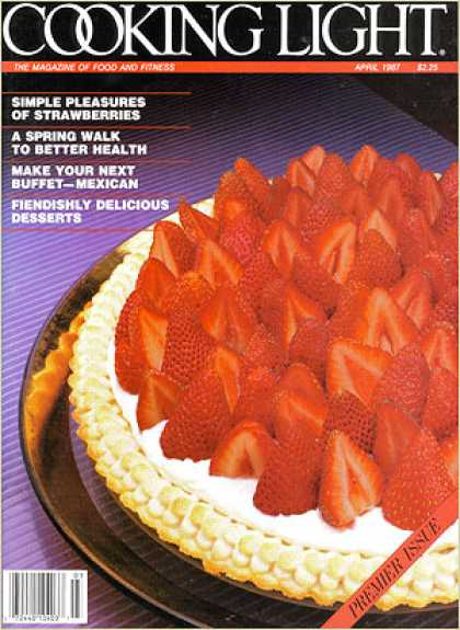 Cooking Light - Strawberry Cream Tart