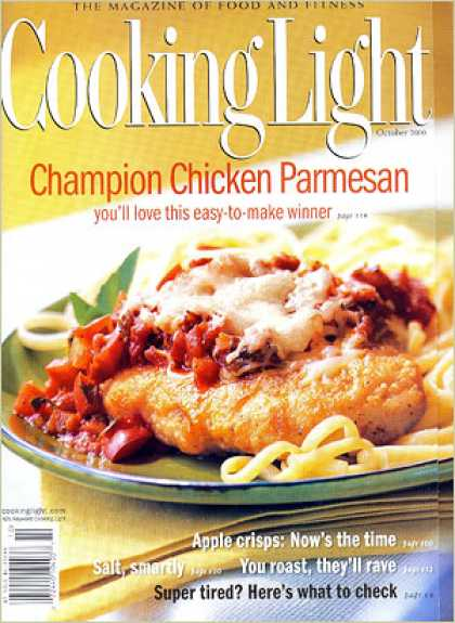 Cooking Light - Champion Chicken Parmesan