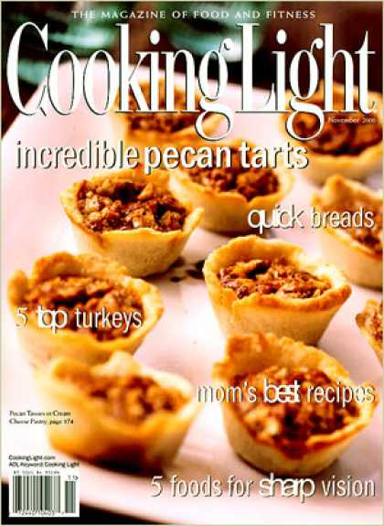 Cooking Light - Pecan Tassies in Cream Cheese Pastry
