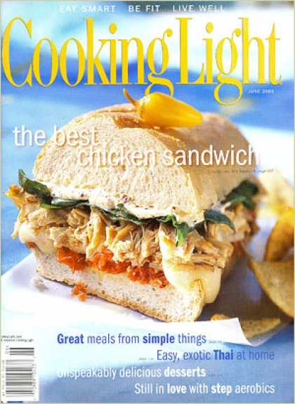 Cooking Light - Chicken-and-Brie Sandwich with Roasted Cherry Tomatoes