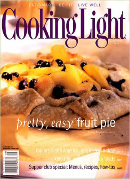 Cooking Light - Blueberry-Peach Galette