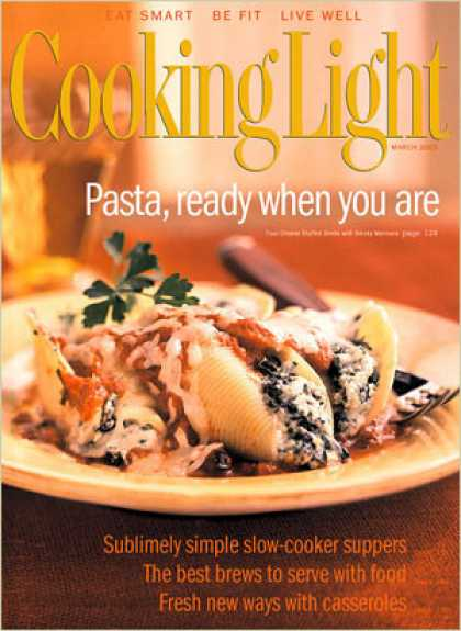 Cooking Light - Four-Cheese Stuffed Shells with Smoky Marinara