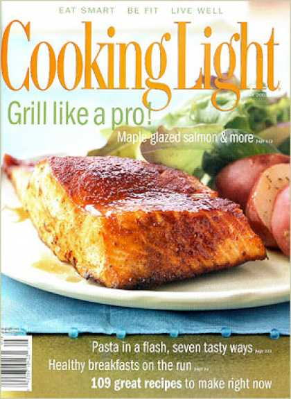 Cooking Light - Maple-Glazed Salmon